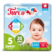 Picture of Baby Turco Jumbo Paket No:5 Junior 32 Li