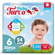 Picture of Baby Turco No:6 Xl 16+ Kg 24 Lü
