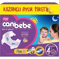 Picture of Canbebe Aylık Paket No:4+ Maxi Plus 50 Lı